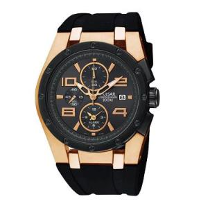 PULSAR Alarm Chronograph Rose Gold