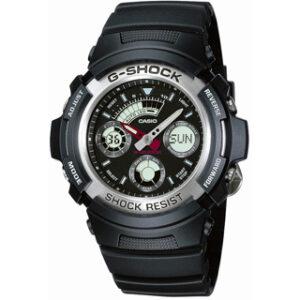 CASIO G-SHOCK(AW-590-1AER)ANA-DIGI