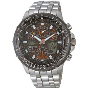 CITIZEN ECO DRIVE SUPER Skyhawk(JY0080-62E)RADIO CONTROLLED TITA