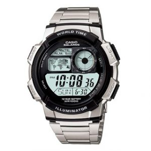 CASIO COLLECTION(AE-1000WD-1A)WORLD TIME STEEL