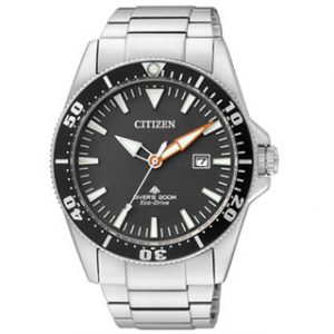CITIZEN ECO DRIVE(BN0100-51E)DIVER'S 200m STEEL
