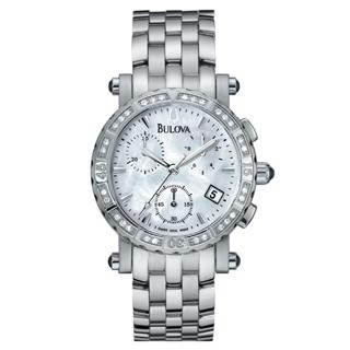 BULOVA(63R35)DIAMONDS CHRONOGRAPH