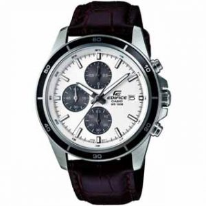 CASIO EDIFICE(EFR-526L-7AVUEF)CHRONOGRAPH LEATHER