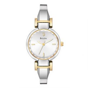 BULOVA(98L140)TWO TONE LADIES