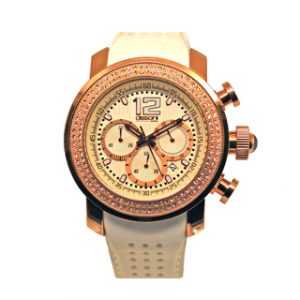 DISSONI(k853)WHITE CHRONO