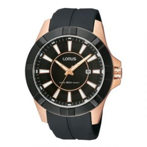 LORUS(RH992CX9)ROSE GOLD ANALOG