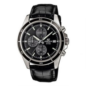 CASIO EDIFICE(EFR-526L-1AVUEF)LEATHER CHRONO