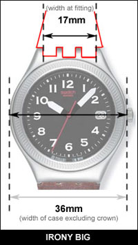 Swatch Irony Big
