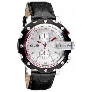Dolce&Gabbana Sean Black Chronograph
