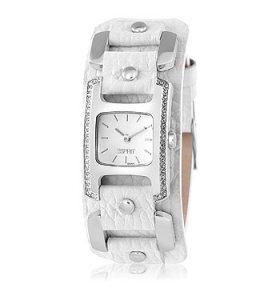 ESPRIT(ES101432005)Rivet White Wristband