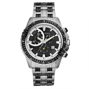 GUESS Chronograph Stainless Steel-Ceramic