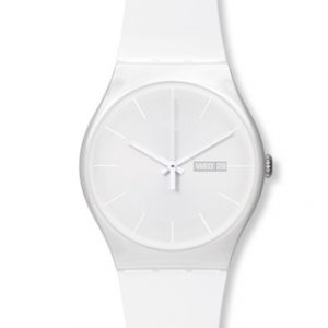 SWATCH NEW GENT(SUOW701)WHITE REBEL