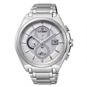 CITIZEN ECO DRIVE(CA0350-51A)SUPER TITANIUM CHRONOGRAPH