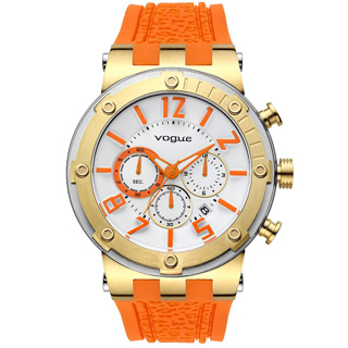 VOGUE FEELING(17001.4) GOLD/ORANGE