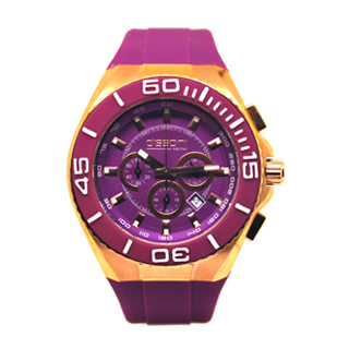 DISSONI(k847PR)PURPLE CHRONO