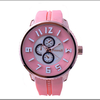 FERENDI(F1326-4)ROSE GOLD PINK