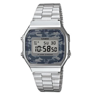 CASIO COLLECTION(A168WEC-1EF)DIGITAL CAMOUFLAGE