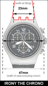 Swatch Irony The Chrono