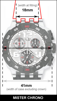 Swatch Mister Chrono